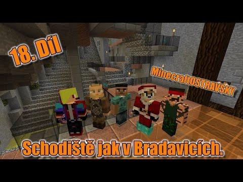 #18 | MinecraftOSTRAVSKY - Schodiště jak v Bradavicích | NEKONEČNÁ SÉRIE | [FULLHD]