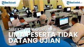 Seleksi PPPK Guru 2021 NTB Dimulai, Lima Peserta Tidak Hadir saat Ujian