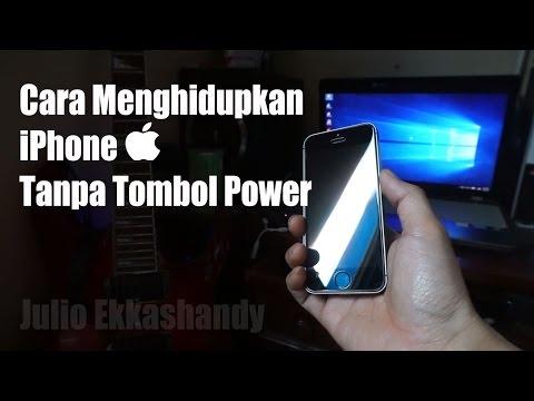 Video Cara Menghidupkan iPhone Tanpa Tombol Power