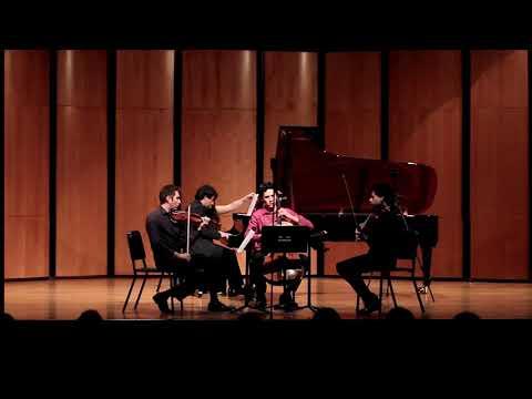 Playin Mahler Piano Quartet at the Classical Music Institute, 2018