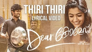Dear Comrade Malayalam - Thiri Thiri Lyrical Song | Vijay Deverakonda | Rashmika | Bharat Kamma
