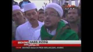 Habib Rizieq (FPI) Redam Amuk Massa Di Kerusuhan Mbah Priok