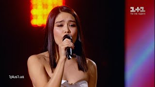 "Indira Edilbaeva — ""Cose della vita"" — The knockouts — The Voice Show Season 10"