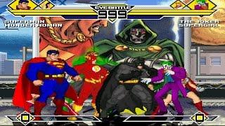 Detective Comics Party 4v4 Patch MUGEN 1.0 Battle!!!
