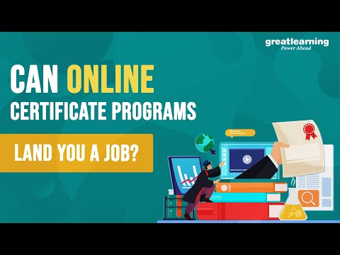 Can Certificate programs land you a Job ?   Online Programs Facts ...
