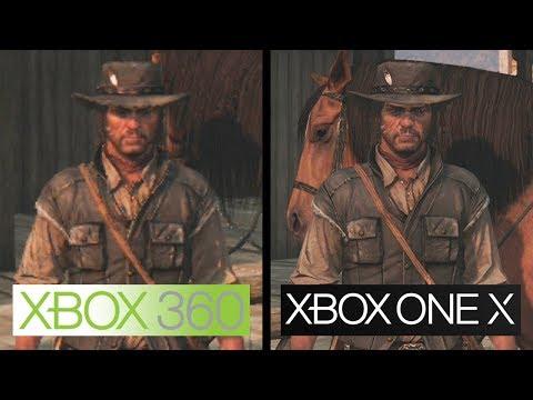 Vidéo de comparaison entre la version 360 et One X de Red Dead Redemption