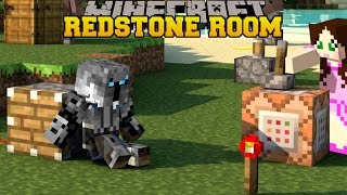 Minecraft: WACKY REDSTONE ROOM - 10 HIDDEN BUTTONS - Custom Map