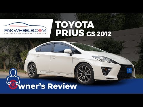 Toyota Prius GS Sport 2012 Owner's Review: Price, Specs & Features   PakWheels