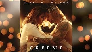 Karol G Feat. Maluma   Créeme  (Audio)