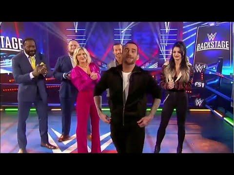 Breaking news: CM Punk appears on WWE Backstage, will he wrestle again in WWE?