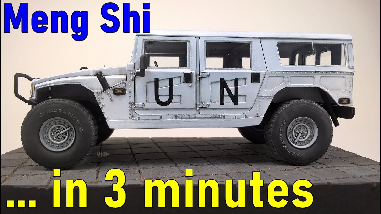 #6 … in 3 minutes – Meng Shi scale 1/35 – model build