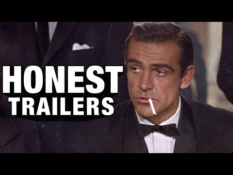 A Honest Trailer for Sean Connery as James Bond