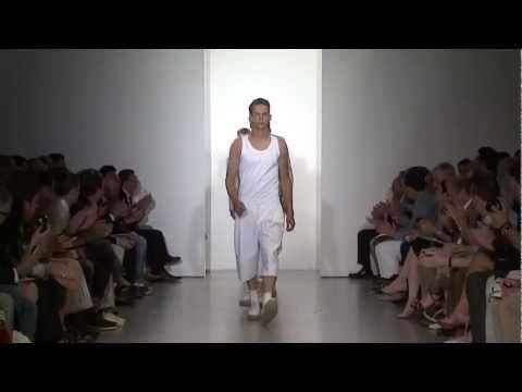 Calvin Klein Collection Men's Spring 2012 Runway Show - презентация одежды Calvin Klein