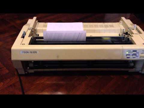 Impresoras Matriz De Punto Fx-1170