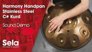 Handpan C# Kurd Stainless Steel