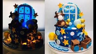 оформление торта для мальчика с любимой игрушкой