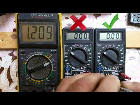 Ремонт мультиметра  DT830B (в220v на режиме Омметра).