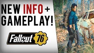 FALLOUT 76 HUGE INFO! New Gameplay, VATS, Modding, Bounties, Perk Cards, Leveling Up & More!