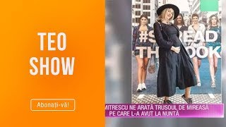 "Teo Show (06.05.2019) - Diana Dumitrescu, Insarcinata In 5 Luni: ""Simt Deja Miscarile Bebelusului!"""