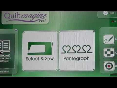 Quiltmagine Pro - Update Home Screen & Helps