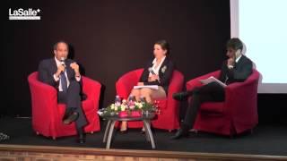 preview picture of video 'Conférence-débat avec Eric Woerth à LaSalle Beauvais (2/2)'