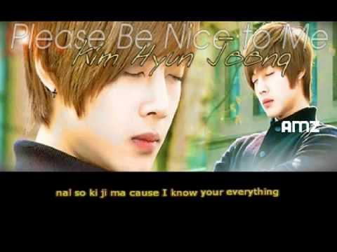 Download Kim Hyun Joong SS501   Please Be Nice To Me W  Simple Romanji Lyrics HD Mp4 3GP Video and MP3