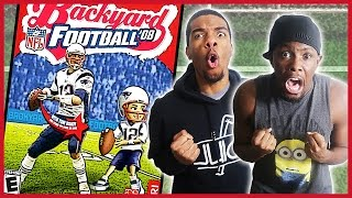 THE GREATEST PLAYGROUND PLAYER OF ALL TIME! - Backyard Football 2008 Gameplay | #ThrowbackThursday