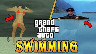 "New ""EVOLUTION OF SWIMMING SKILL"" in GTA games ( Gta 3  Vice city SA)"