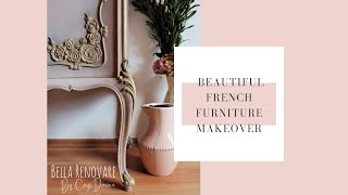 Beautiful French Furniture Makeover