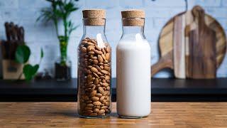 How To Make Almond Milk - 4 Ways + Almond Flour Recipe