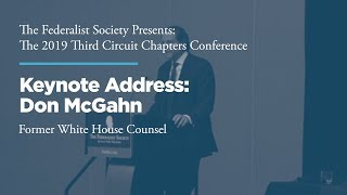 Click to play: Keynote Address by Don McGahn