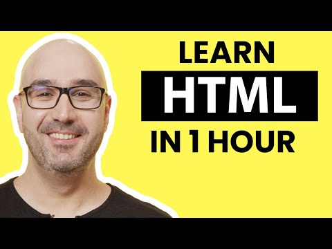 HTML Tutorial for Beginners: HTML Crash Course [2021] Coupon