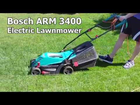 Electric Lawnmower (Bosch ARM 3400)