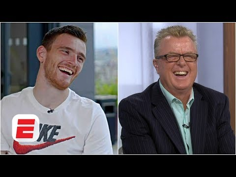 Andrew Robertson pranks Liverpool legend Steve Nicol | Premier League