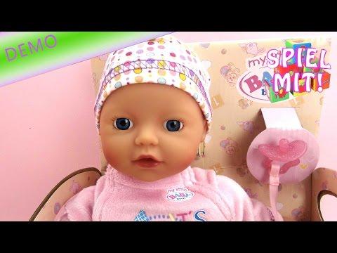 Baby born puppe deutsch - My little Baby Born Supersoft Kuschelpuppe für Kleinkinder