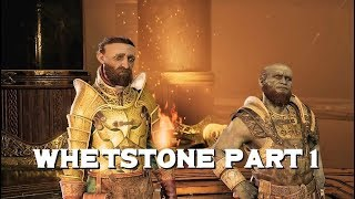 God of War - How to get Whetstone Part 1 Side Mission
