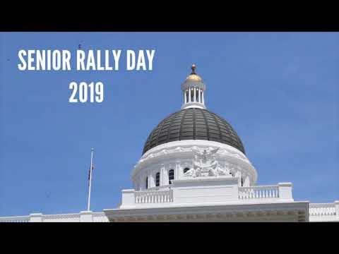 Thumbnail image of Senior Rally Day 2019 video.