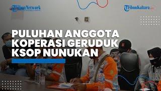 Puluhan Anggota Koperasi Geruduk KSOP Klas IV Nunukan Bawa 3 Tuntutan Ini