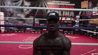Marsellos Wilder Talks About Opportunity To Fight On Porter vs. Garcia Undercard And Experiences In