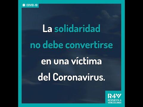 La Solidaridad no debe convertirse en una víctima del Coronavirus