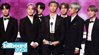 BTS Present Best R&B Album at 2019 Grammy Awards | Billboard News