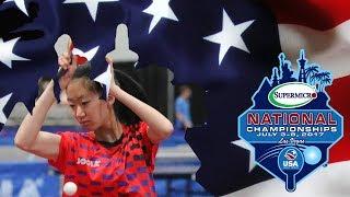 2017 SuperMicro US National Table Tennis Championships - Rachel Yang vs Amy Wang (U21 Women's Final)