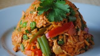 ARROZ CON POLLO   How To Make Colombian Arroz Con Pollo (Chicken And Rice)   SyS