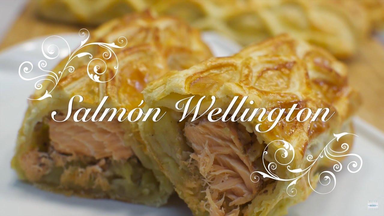 Salmon al Horno en Hojaldre | Salmon Wellington | Recetas de Salmon al Horno con Patatas