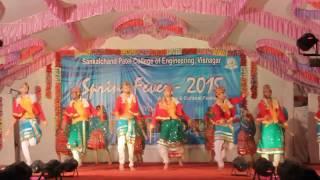 """We prepared this group dance (garba) ,  for perform in our college festival """"SPRING FEVER"""" this 14th feb,2015...we all guys did njoed together fun,mastiii,dhamal,all kind of activity without study :p.....n also we got 2nd price for this group dance event ...yupiiiiieeeee"""