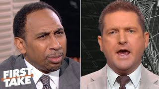 Stephen A. grills Todd McShay on his 2020 NFL Mock Draft 1.0 picks | First Take