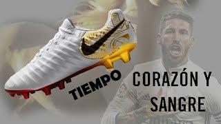 Как относишься к Sergio Ramos? Nike Tiempo 7 Corazón y Sangre