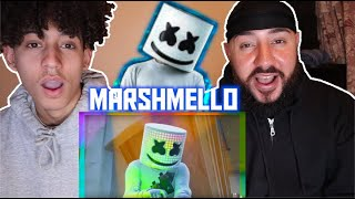 Marshmello - Alone (Fortnite Music Video) REACTION