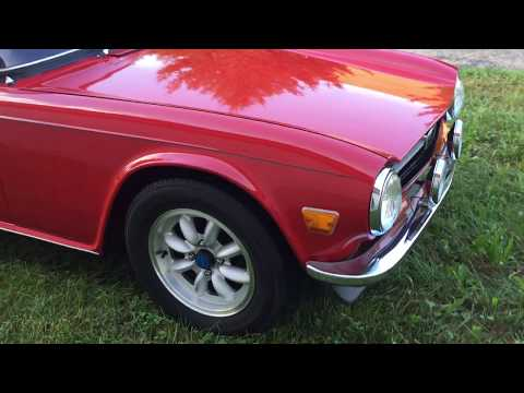 Video of 1971 Triumph TR6 - $23,900.00 Offered by Cincy Classic Cars - OOR3