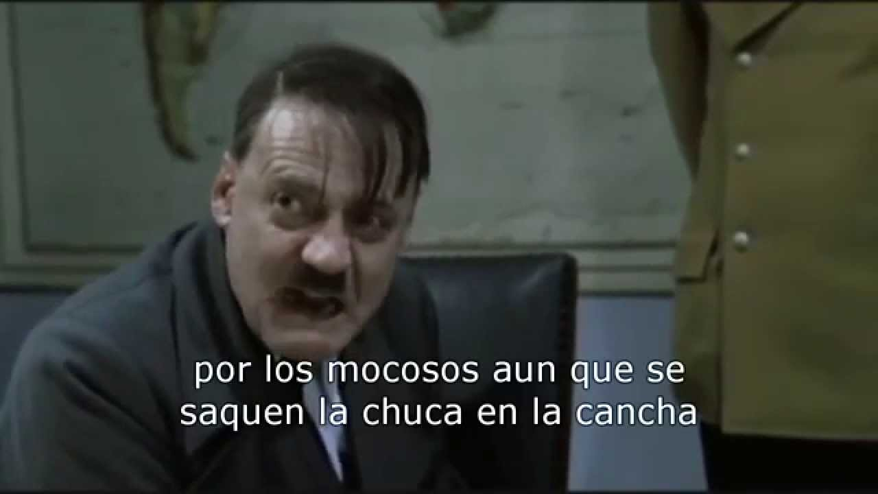 Hitler se Entera de Que Chocó Arturo Vidal